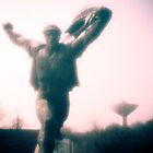End of an Communist Era I. Pinhole Communist Statue by daskar