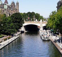 Rideau Canal, Ottawa, ON by Shulie1
