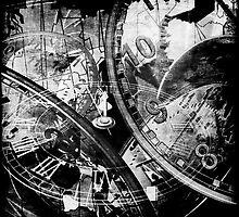 Time in Grunge by Barbara  Jones