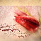 """A Year of Thanksgiving"" Christian Scripture Art Calendar by StacyLee"