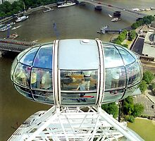 London Eye, England by Alberto  DeJesus