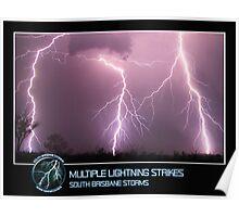 Branded: Multiple Lightning Strikes Poster