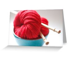 Raggedy Andy Handspun Yarn Greeting Card