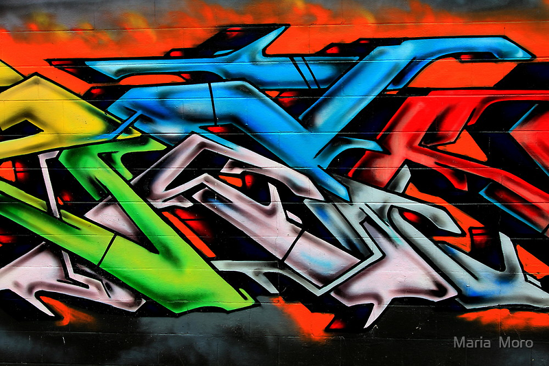 Big City Freaks Graffiti  - part 2 by Maria  Moro