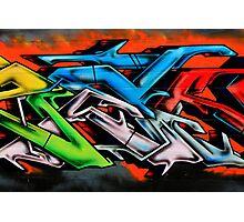 Big City Freaks Graffiti  - part 2 Photographic Print