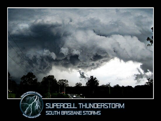 Branded: Supercell Thunderstorm by SouthBrisStorms