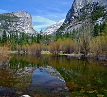 Mirror Lake, Yosemite by Richard Rushton