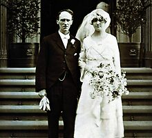 Wedding Day 1918 by greg angus