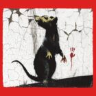 Fitzrovia Rat by Banksy by Respire