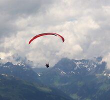 Kreuzjoch - Paragliding by Hans Bax