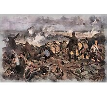 World War 1 - The Battle of Ypres by Richard Jack Photographic Print