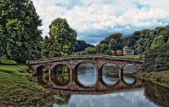 Stourhead: Bridge and Pantheon by David Jacks