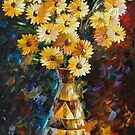 SOUL INSPIRATION - original oil painting on canvas by Leonid Afremov by Leonid  Afremov
