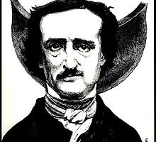 EDGAR ALLAN POE by Cameron Hampton