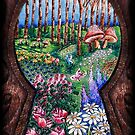 The Garden Behind the Door by Erica Yanina Lujan
