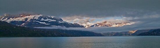 Approach to Glacier Bay, Alaska by JMChown