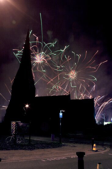 Blackheath Fireworks by Adam Dorman