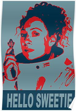 River Song Hello Sweetie ( Greeting Card ,Poster &amp; Print ) by PopCultFanatics