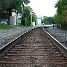 Train Tracks - Waukesha, WI by Garrett Morlang