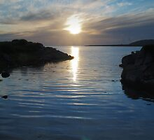 Trawenagh Bay at Sunset 2 by WatscapePhoto