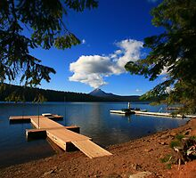 Lake of the Woods, Oregon by Larry Turner