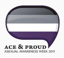 AAW Ace & Proud by Asexual Awareness Week