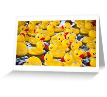 Weekends Are So Crowded Greeting Card