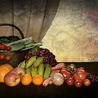Still life with Food  by Irene  Burdell