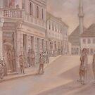 Bosanski Petrovac, work in pastel by sejramic