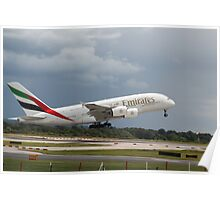 Emirates A380 Poster