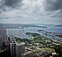 Sydney Harbour from the 360 tower by 28aboveSea