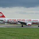 Swiss World cup Plane by J0KER