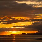 Sunset, Point of Sleat, Isle of Skye, Inner Hebrides, Scotland, by Hugh McKean