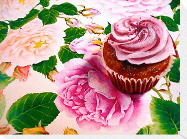 Cupcakes and Roses by © Janis Zroback