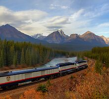 Rocky Mountaineer - Morant's Curve by JamesA1