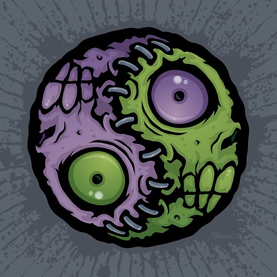 Zombie Yin-Yang by fizzgig