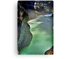 River Partnach Germany Canvas Print