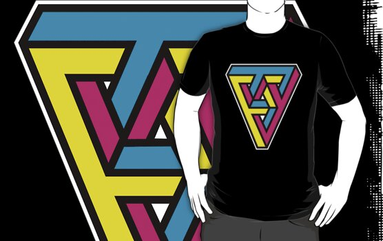 CMYK Triangle by DetourShirts