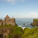 Dunluce Castle, Ireland by Jenny Hambleton
