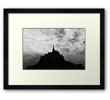 Le Mont St-Michel Framed Print