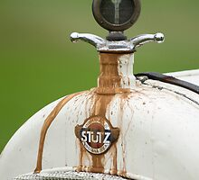 1915 Stutz White Squadron Hood Ornament by Jill Reger