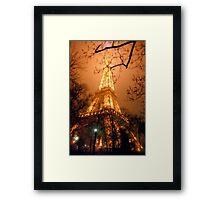 Dreamy Eiffel Tower, Paris Framed Print