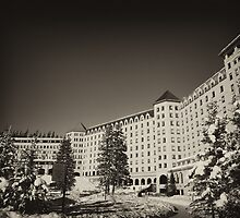 Fairmont Chateau at Lake Louise by Ryan Davison Crisp