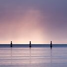 Five Posts at Dawn by gmpepprell
