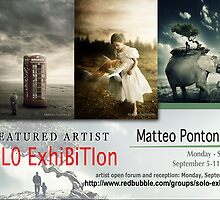 Matteo Pontonutti, Solo Exhibition Banner by solo-exhibition