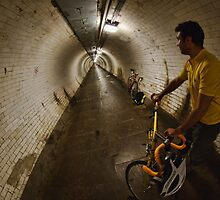 Riding under the Thames, GreenwichTunnel by Guy Carpenter