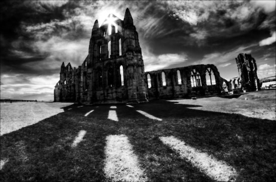 Whitby Abbey by Guy Carpenter