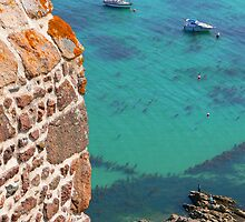 Mont Orgueil Castle and Gorey Harbour by AndyLatt