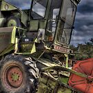 Combine Harvester HDR by Ian Richardson