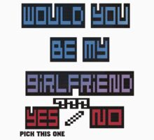 would you be my girlfriend yes or no? by mayatut